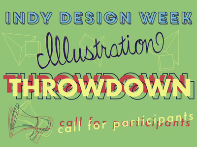 Indy Design Week 2020 - Illustration Throwdown CFP