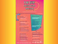 Indy Design Week 2019 Poster