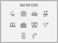 Bad Day Icons