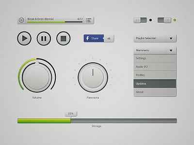 Interface Elements Musicplayer interface elements musicplayer