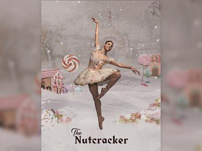 The Nutcracker christmas digital collage collage digital illustration illustration digital art ballet photoshop design