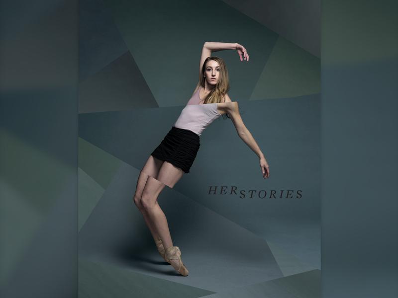 HerStories design geometric modern dance photography digital art art dance ballet