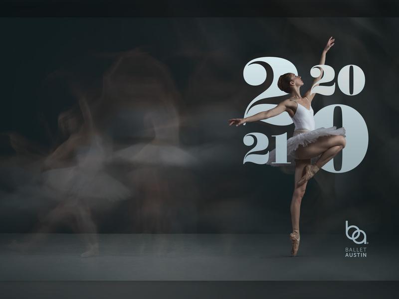 Ballet Austin - Cover dance 2020 design art photography ballet