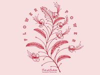 Pitchfork Pretty - Merch Design