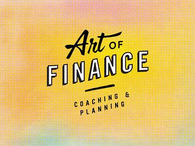 Art of Finance logo design logo branding