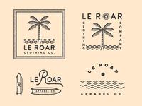 Le Roar Logo Discards