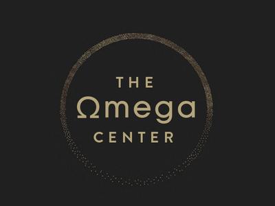 Omega Center design identity branding agency logo design logo branding