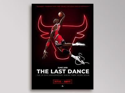 The Last Dance - Key Art Concept illustration wacom cintiq digital painting key art basketball