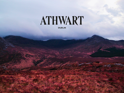 Athwart Magazine - Dublin dublin grid indesign book cover design book cover book branding design branding logo photoshop photography photo magazine design magazine cover magazine edition