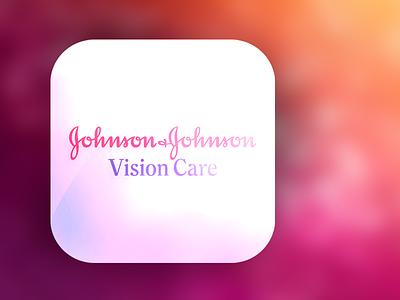 JnJ Vision Care icon jnj pink ios
