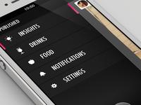 Foodelicious App - Menu