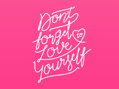 Lettering Love lettering valentine valentines day dont forget love