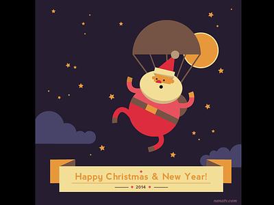 Happy Christmas! christmas santa holidays navidad