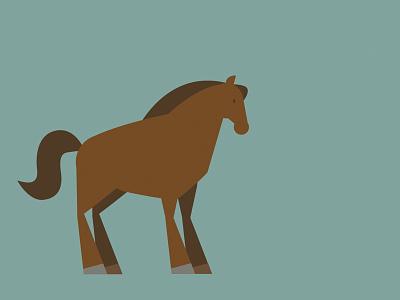 Horse vector animal horse