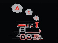 Train Design for a Kids T.