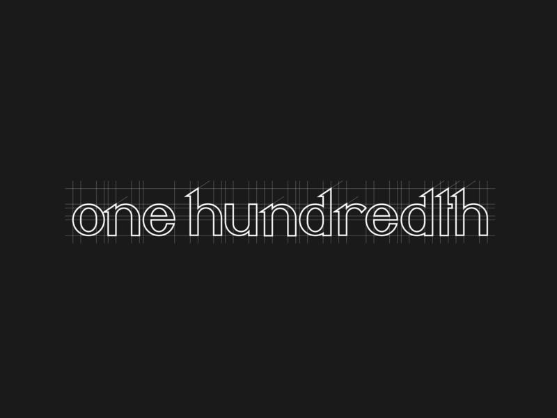 One Hundredth