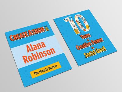 CreateAthon at VCU 2017 Design graphic design design name tag createathon
