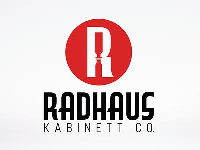 Radhaus Kabinett Co. collateral chisel logo design logo