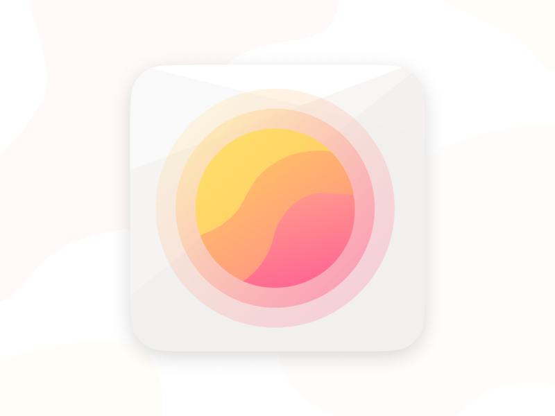 Study Journal App Icon flat app icon