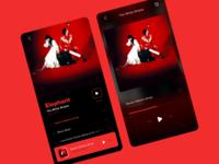 Minimalist music app