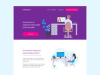 Mitroom Landing Page
