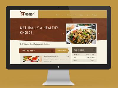 Restaurant Website Design restaurant website food eat