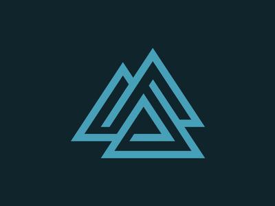 Triangle Logo investment logo triangle