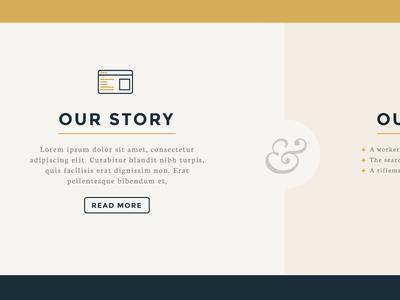 Homepage Shot design web