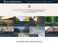 All Roads North Homepage
