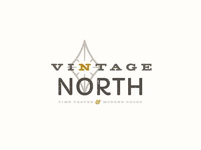 Vintage North Logo ampersand north logo vintage