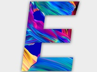 """""""36 Days of Type - Letter E""""- Download Link will Add Soon"""