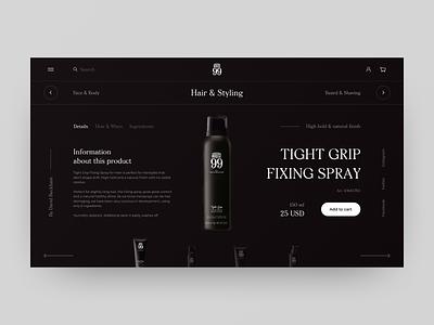 House 99 by David Beckham ecommerce redesign grid product minimal white fashion ecommerce black art ux design typography layout elements clean web ui style interace design