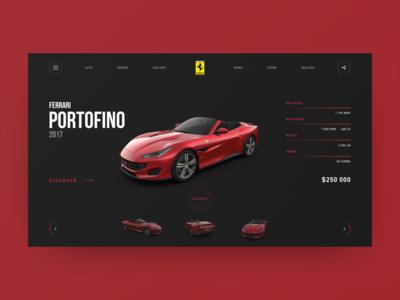 Ferrari Portofino concept redesign