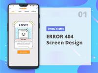 Error 404 empty state