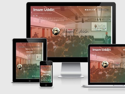 Imam Uddin | Portfolio Template imamuddin imamuddinwp social media design search engine seo css3 html5 website design web design webdesign portfolio