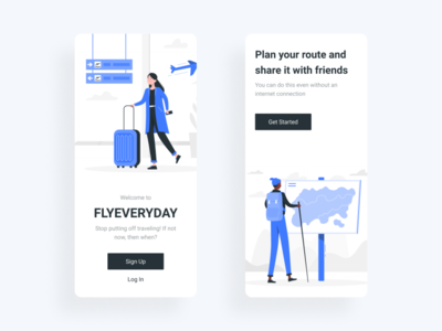 Welcome screens hello dribbble new shot advice welcome screen ui design branding graphic design mobile app ios illustration onboarding illustration onboarding screen ui onboarding