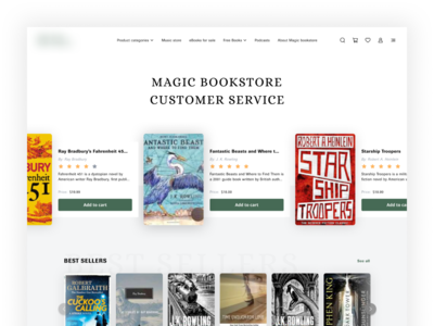 Bookstore website store design ecommerce shop ecommerce app ecommerce design ecommerce website concept website design website web design book bookshop books bookstore