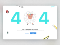 404 error page for kids web-portal