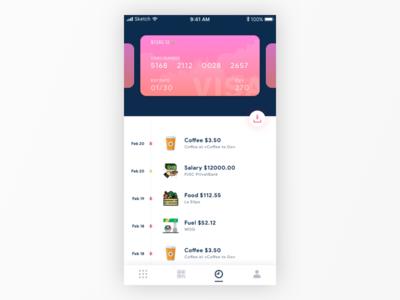 Bank App ios design ios ui app ui ui ios wallet app bank app mobile app ui design app design
