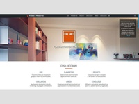 Architecure firm landing page.