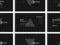 Portfolio Wireframe - WIP