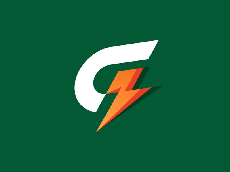 Retro Gatorade branding retro gatorade monogram logo design logo vector