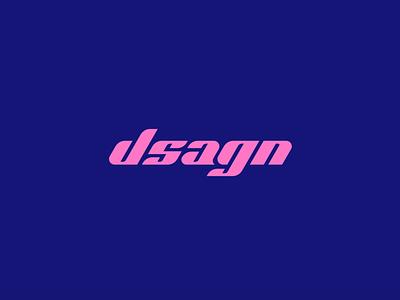 Custom logotype slanted geometric designer logotype lettering portfolio typography branding logo design vector