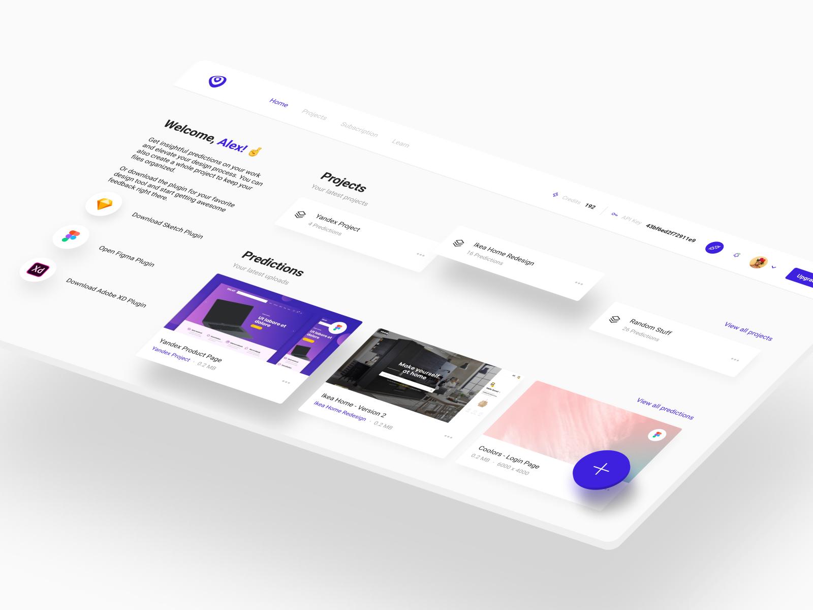 VisualEyes 2.1 - Homepage