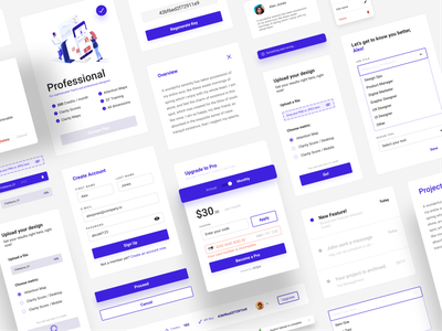Components, assemble! illustration figma dashboard ux ui  adobexd uxui ux design uxdesign ux user interface design user interface userinterface user experience ui ux uiux ui design uidesign ui minimal design app