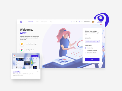 Homepage Design - VisualEyes ux ui uxui ux design uxdesign ux user interface design user interface ui ux uiux ui design uidesign ui sketch minimal isometric illustration figma design dashboard adobexd
