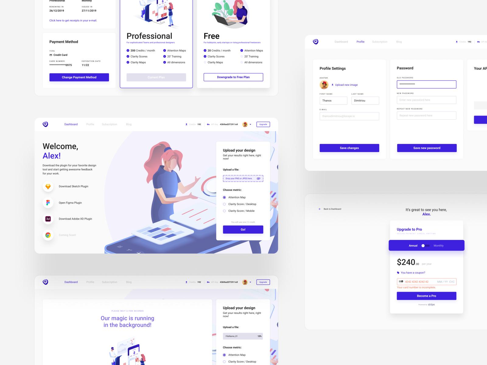 Dashboard Design - VisualEyes