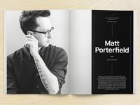 Matt Porterfield photo for TGD Mag