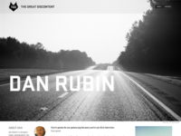 The Great Discontent: Dan Rubin