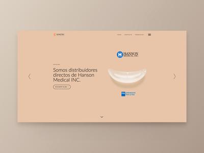 Web site Simetry